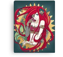 Steampunk Mermaid Canvas Print