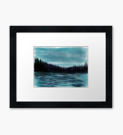 Hood Canal, Puget Sound Framed Print