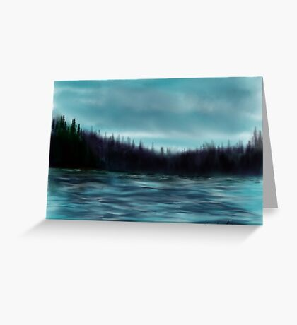 Hood Canal, Puget Sound Greeting Card
