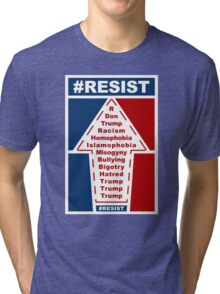 Resist Hashtag Tri-blend T-Shirt