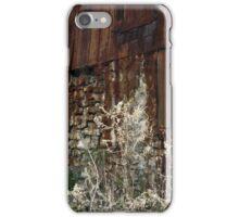 Tall Grass, Old Barn iPhone Case/Skin