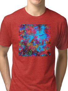 Abstract Diver Tri-blend T-Shirt