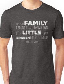 My family in white Unisex T-Shirt