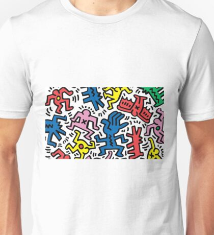 Keith Haring Crazy Unisex T-Shirt