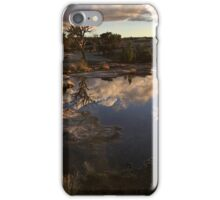 Enjoying The Golden Hour in Moab, Utah iPhone Case/Skin
