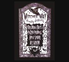 Witch Dessert Menu Halloween T-Shirt