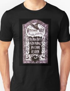 Witch Dessert Menu Halloween Unisex T-Shirt