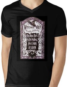 Witch Dessert Menu Halloween Mens V-Neck T-Shirt