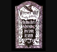 Witch Dessert Menu Halloween Unisex T-Shirt