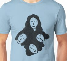 Dreaming Minds - Four heads Unisex T-Shirt