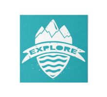Explorer's Crest Gallery Board