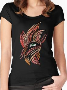 eye anxiety + envy Women's Fitted Scoop T-Shirt