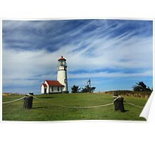 Cape Blanco Lighthouse Above The Rope Poster