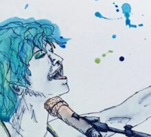 Hayley Williams Watercolour Painting Sticker