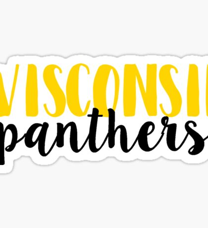 Wisconsin Panthers Sticker