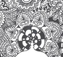 Aladdin Castle Zentangle Sticker