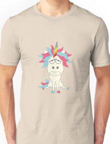 Crazy Unicorn - Grumpy Edition Unisex T-Shirt