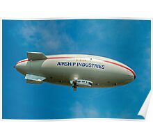 Airship Industies' Skyship 500-02 G-BIHN  Poster