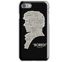 sherlock holmes iPhone Case/Skin