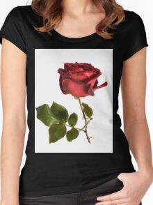 Rose and Thorns Women's Fitted Scoop T-Shirt