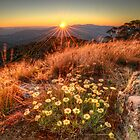 High country sunset by Kevin McGennan