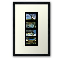Cape Blanco Lighthouse Tetraptych - P Framed Print
