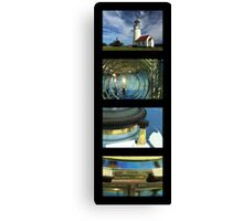 Cape Blanco Lighthouse Tetraptych - P Canvas Print