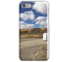 Fun Cloudscape in Waterflow, New Mexico iPhone Case/Skin
