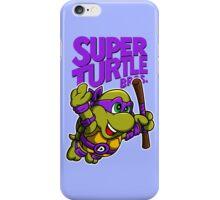 Super Turtle Bros - Donnie iPhone Case/Skin