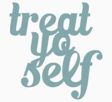 Treat Yo Self Hand Lettering Baby Tee