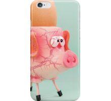 Pig Eggcup iPhone Case/Skin