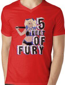 """5 Feet of Fury"" Alexa Bliss Mens V-Neck T-Shirt"