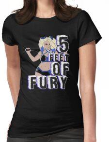 """5 Feet of Fury"" Alexa Bliss Womens Fitted T-Shirt"