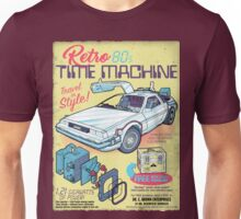 Retro Time Machine Unisex T-Shirt