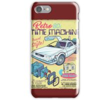 Retro Time Machine iPhone Case/Skin