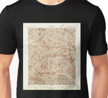 USGS TOPO Map California CA Waterman Mtn 301236 1936 24000 geo Unisex T-Shirt