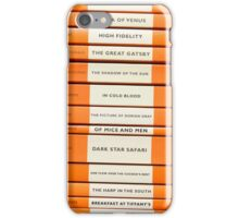 Book Spine Graphic Shirt iPhone Case/Skin