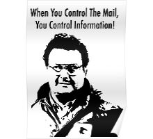 When you control the Mail.. Poster