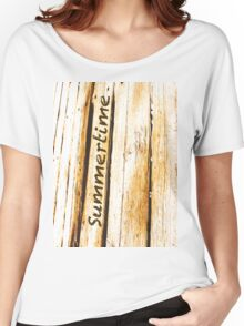 Summertime Women's Relaxed Fit T-Shirt