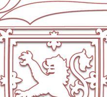 Thin Red Lion Sticker