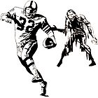Sunday Funday: Football and Zombies by tommytidalwave