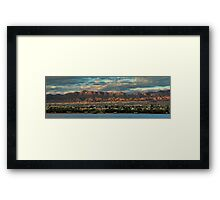Sunset Over Havasu Framed Print