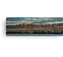 Sunset Over Havasu Canvas Print