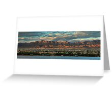 Sunset Over Havasu Greeting Card