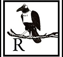 R is for Raven by Ancell