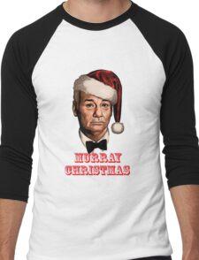 bill murray christmas Men's Baseball ¾ T-Shirt