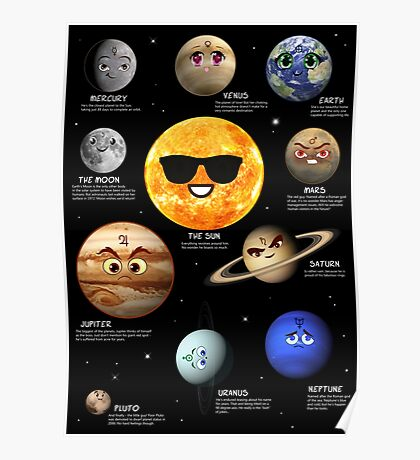 The Solar System Crew Poster