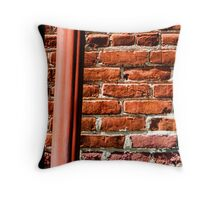 Woodstock Courthouse Detail II Throw Pillow