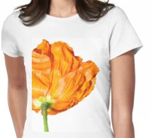 Orange Overdose Womens Fitted T-Shirt