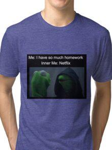 Inner Kermit  Tri-blend T-Shirt